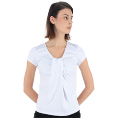 Short Sleeve Front Detail Top